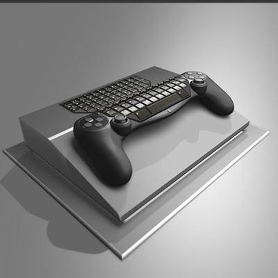 Dennis haupt gamepad keyboard hybrid idea 10