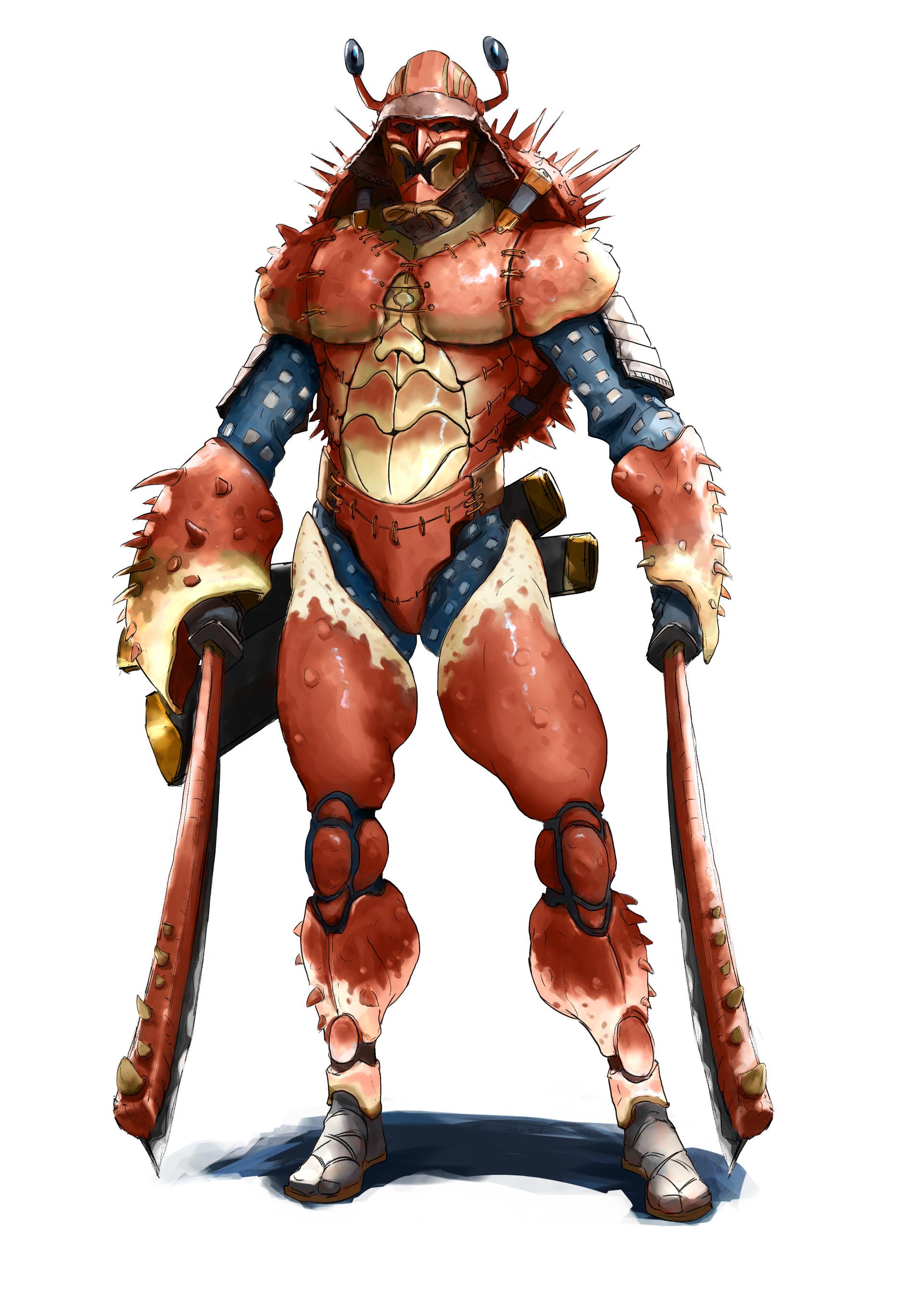 Brian deakin samurai crab02
