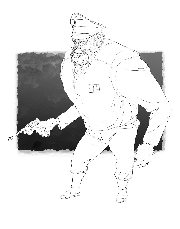 Brian deakin nazi monkee2