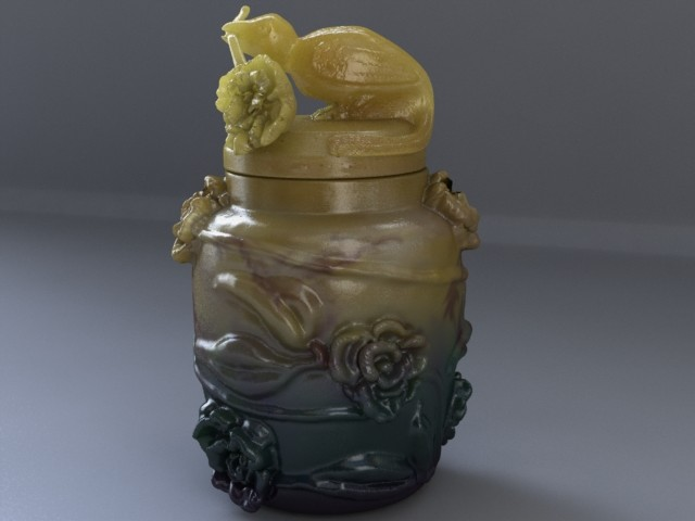 Urn used in Temple of Doom