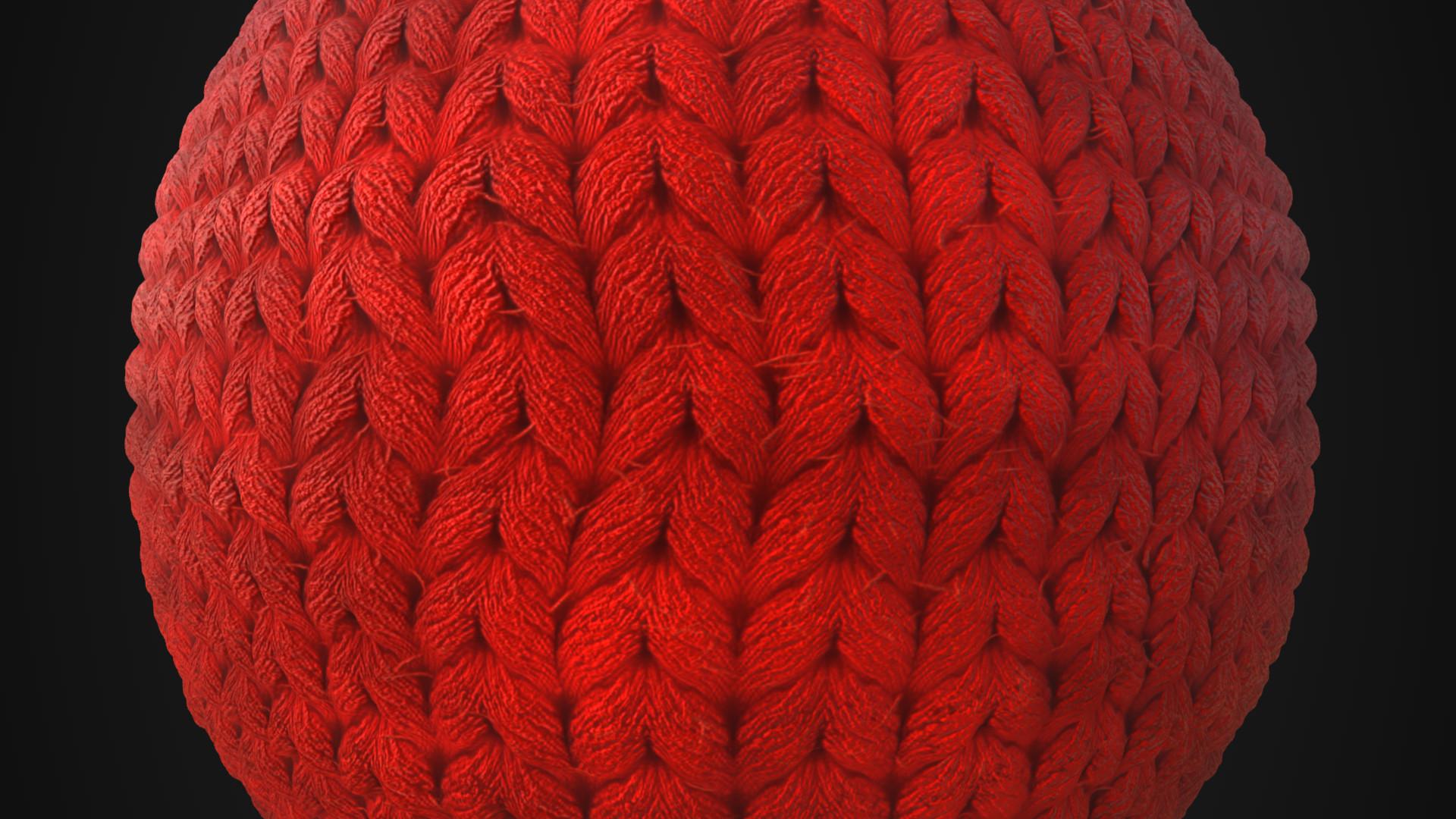 ArtStation - Wool material, Lluis Andreu