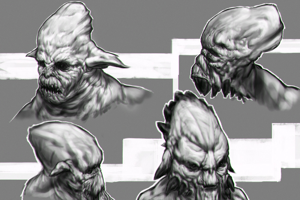 Alexander gorisch paint creatures 16