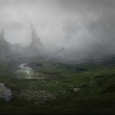Felipe pesantez landscape ruins matte painting by fpesantez d9d2r48