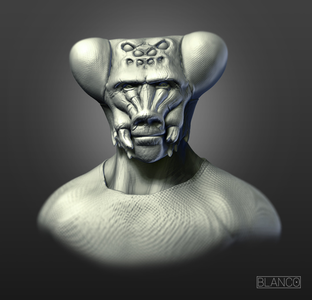 Felipe blanco zbrush document