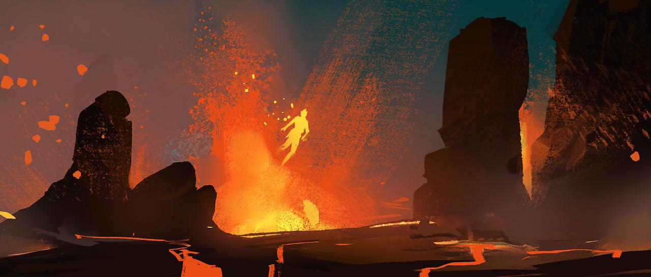 """Topic: """"Lava Rising"""""""