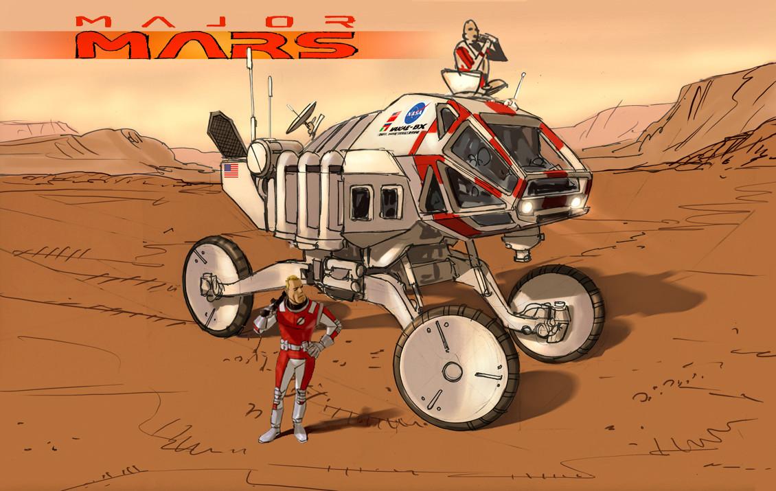 Rodolfo damaggio major mars rover copy