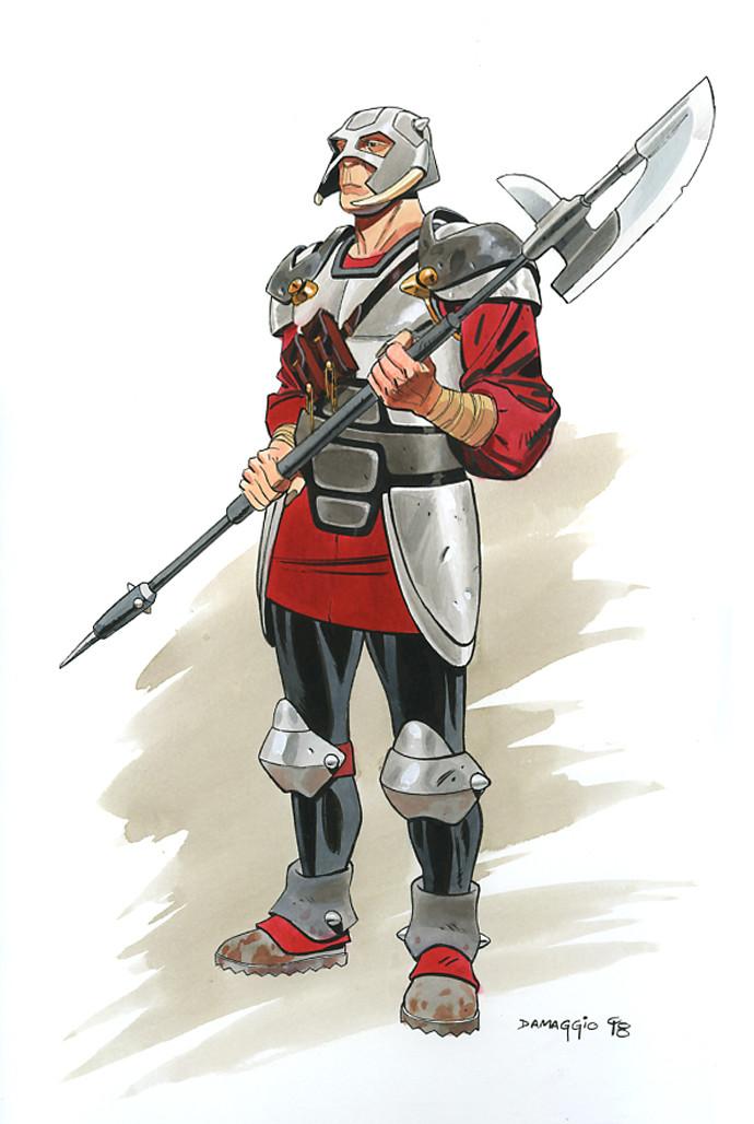 Rodolfo damaggio guard