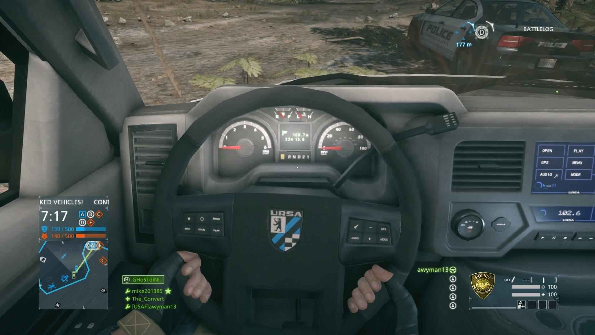Alex jay brady pickup truck dash
