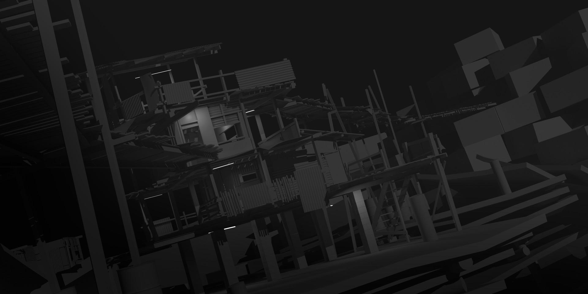Daniel pellow slum shack lighting3