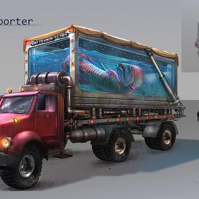 Suresh pydikondala arowana transporter