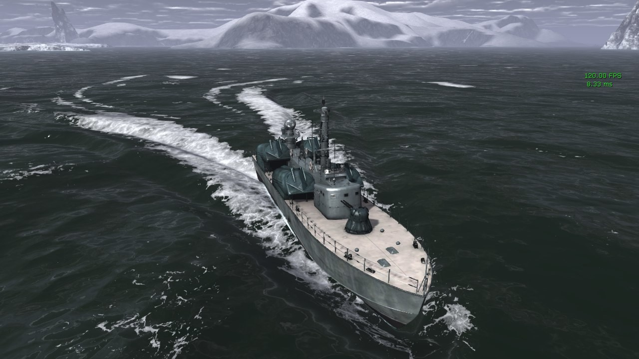 Early SeaCraft ocean that supports ship dynamic interaction with its surface! UDK (2012-2013)