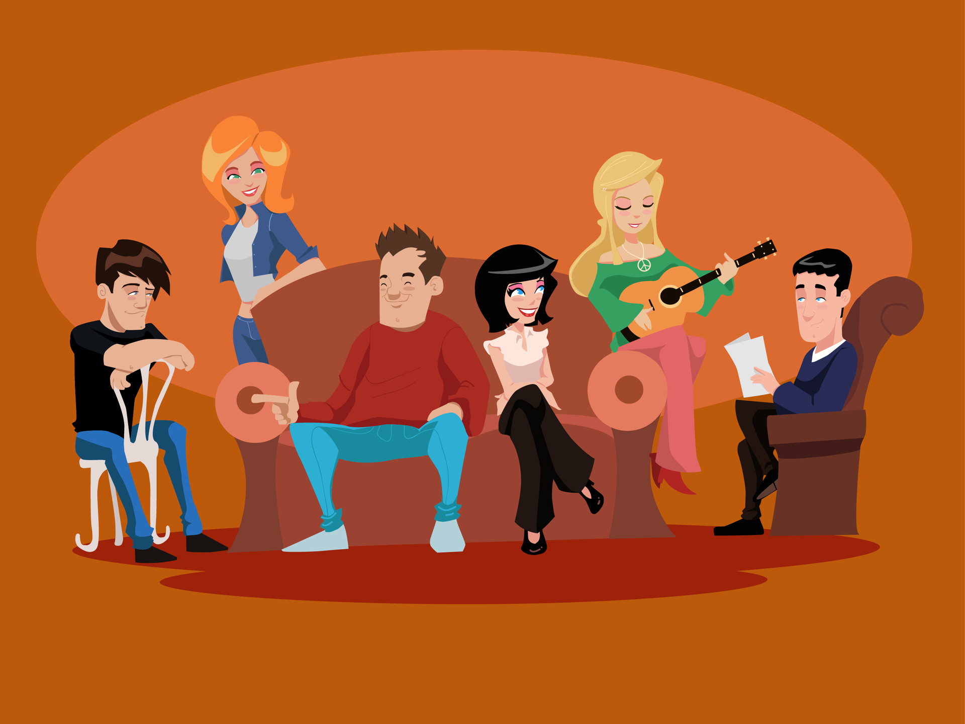 Friends Tv Show Central Perk