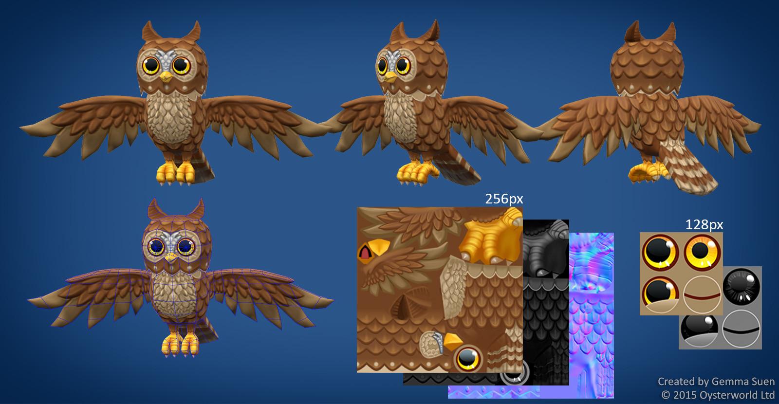 Gemma suen owl