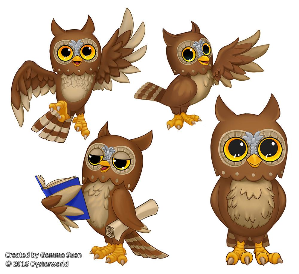 Gemma suen owl illust