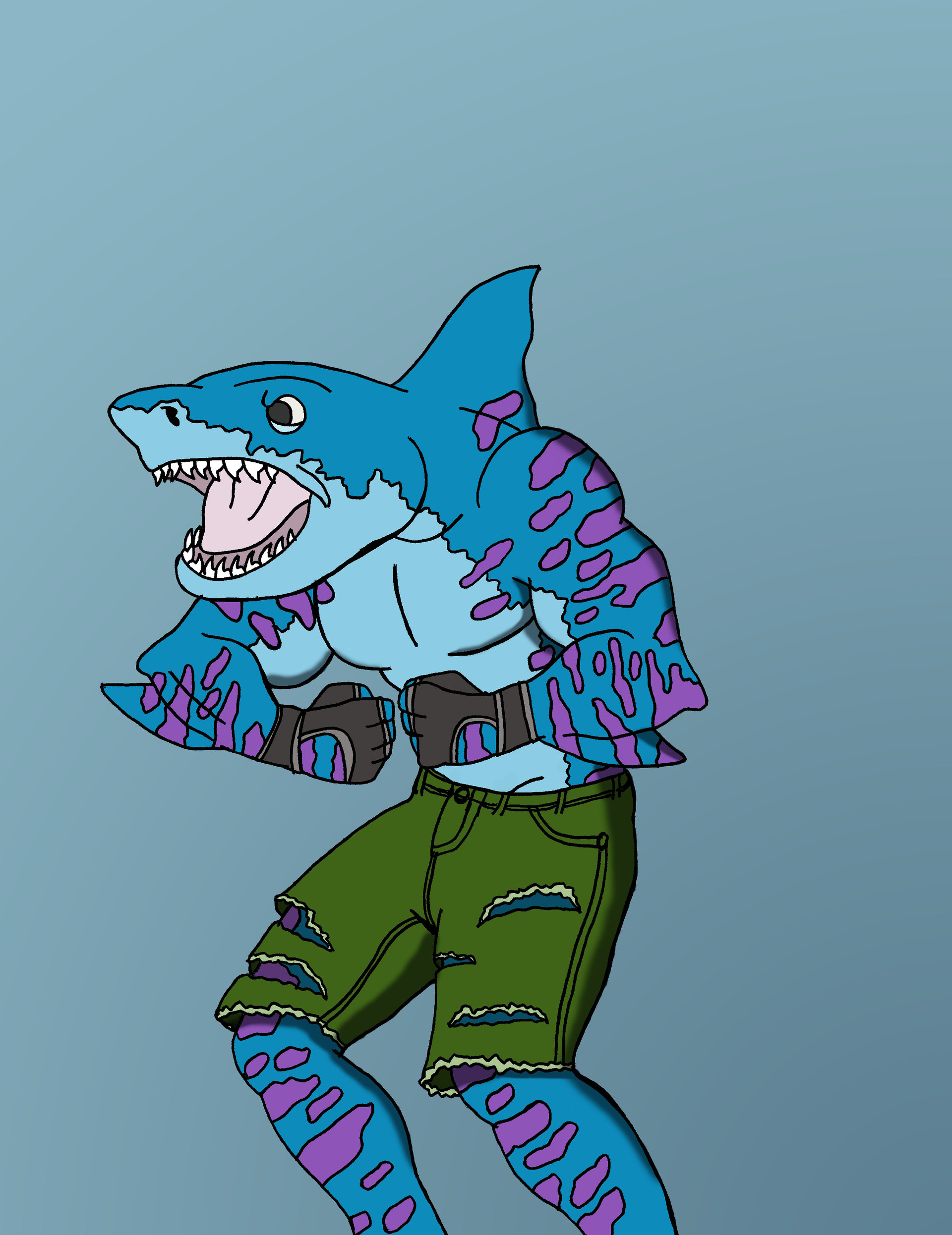 Street sharks characters