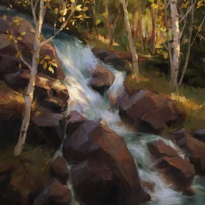 Vea palm waterfall paint 5 s