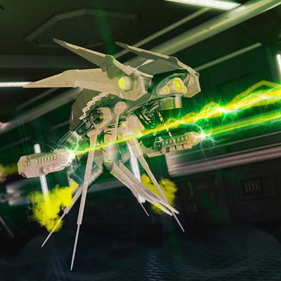 Piktron labs drone attack