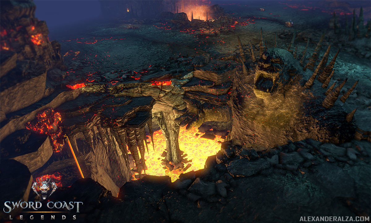 Sword Coast Legends for PC, PS4 and Xbox One. Running in Unity.