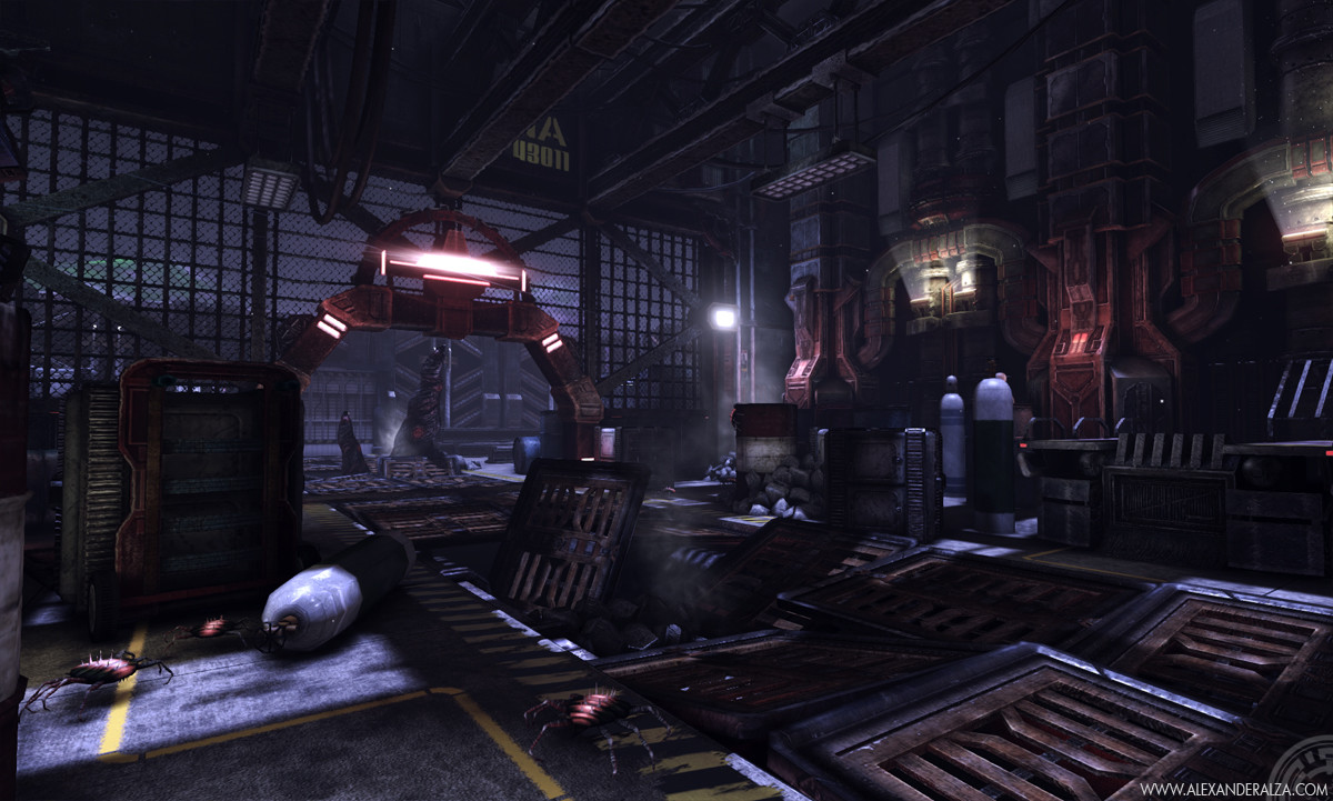Stockpile scene in UDK (2 of 6)