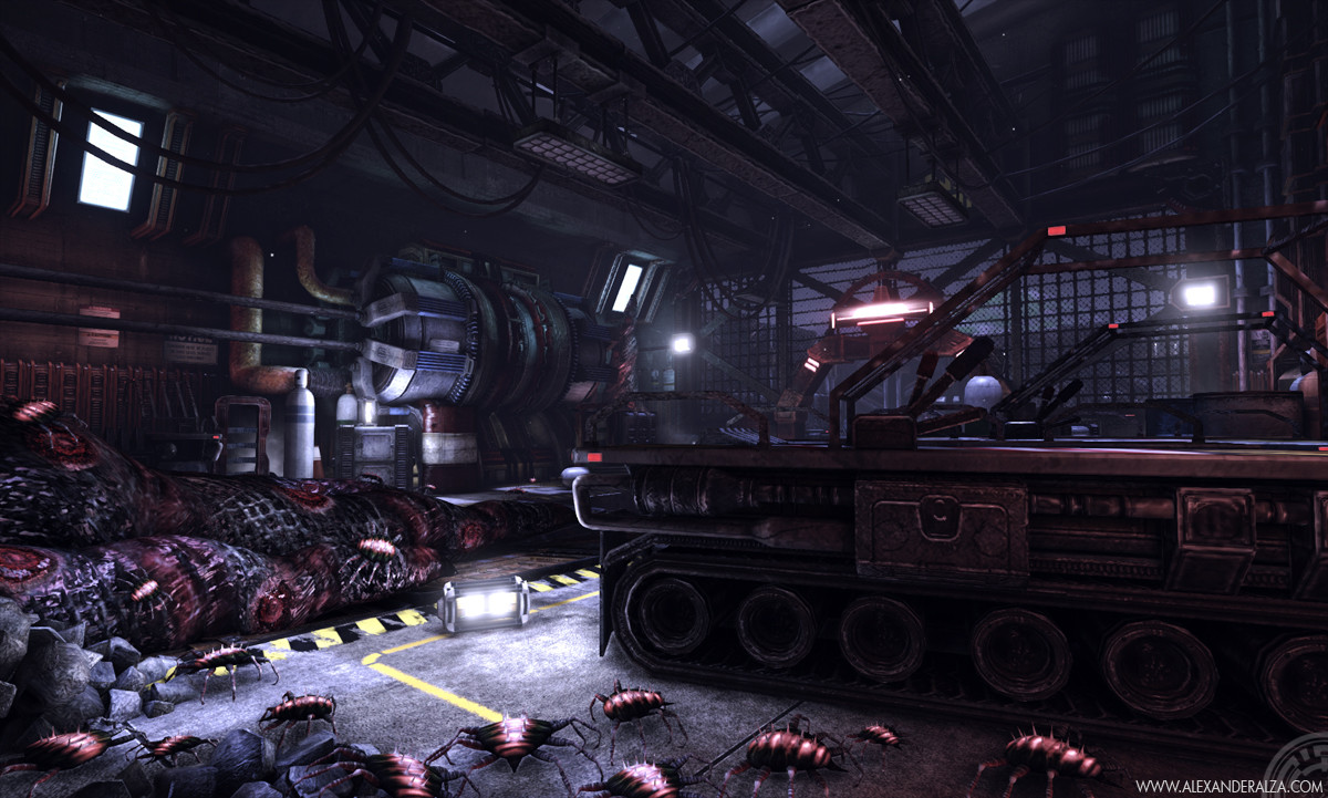 Stockpile scene in UDK (6 of 6)