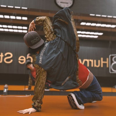 Ayan azimkulov break dance practice cropped