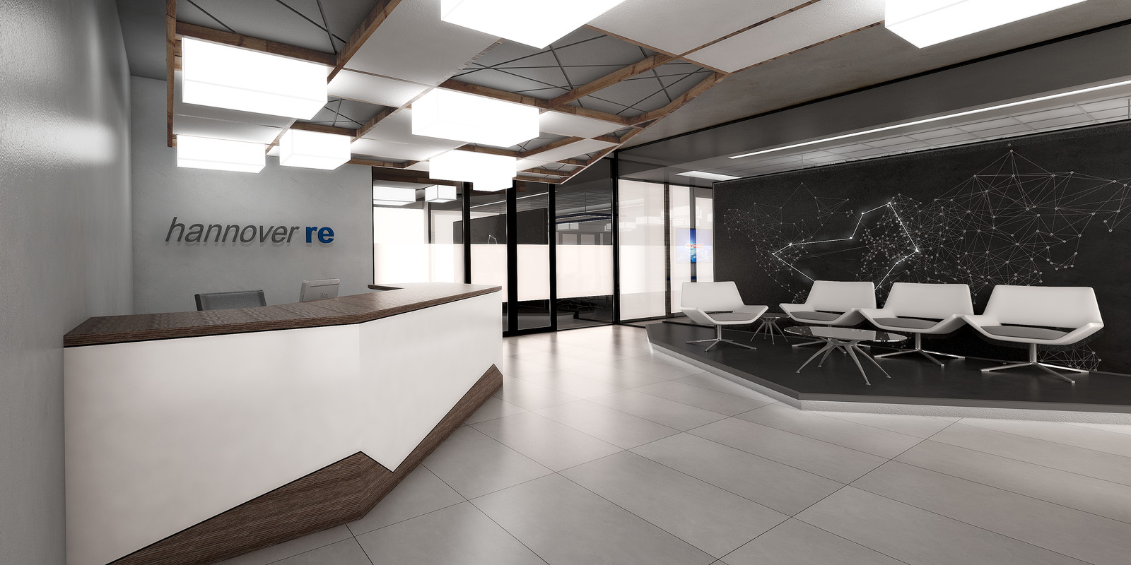 Trend Group Hannover Re Pitch - Reception and Boardroom