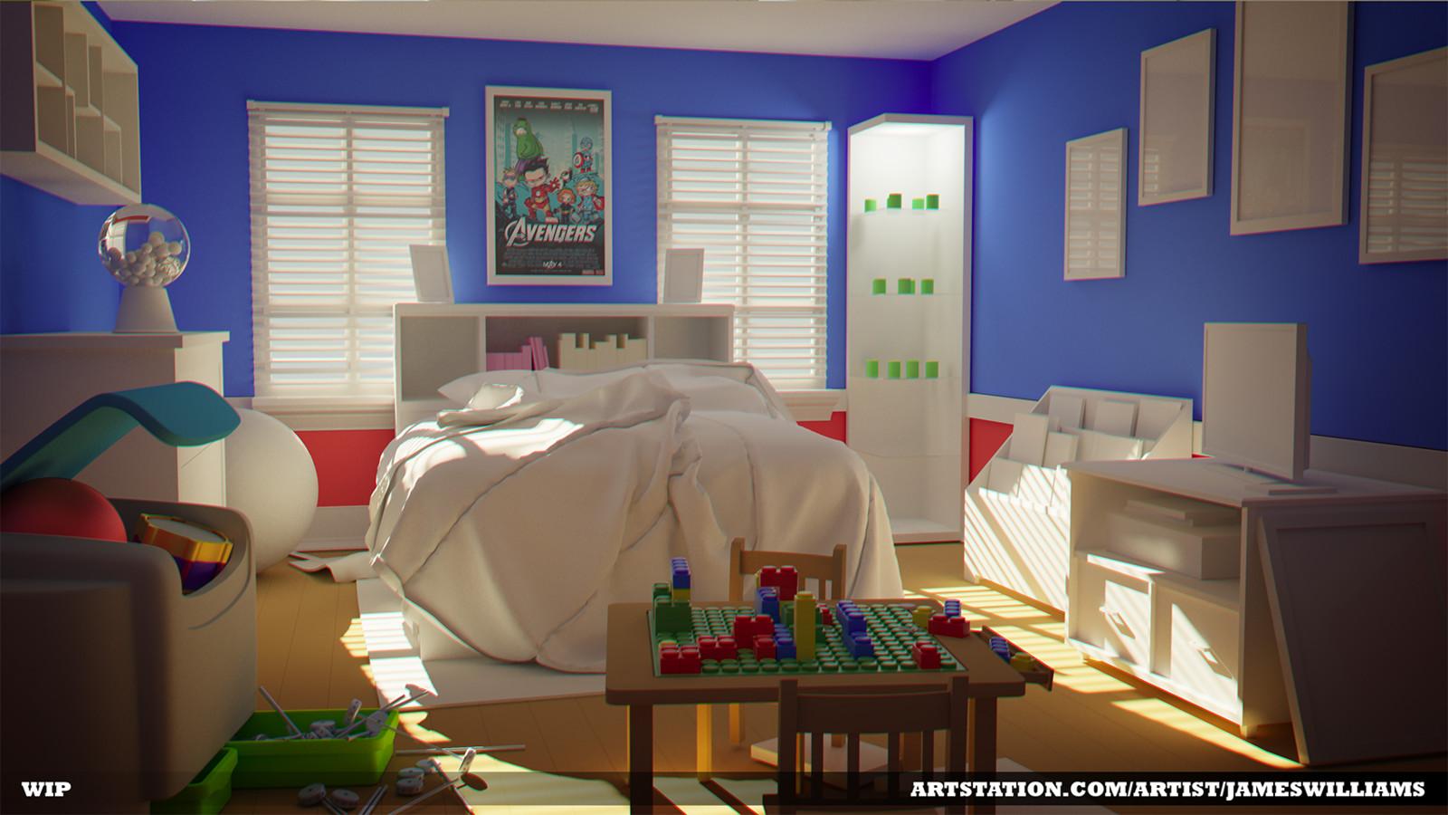 Marvel Fan Bedroom