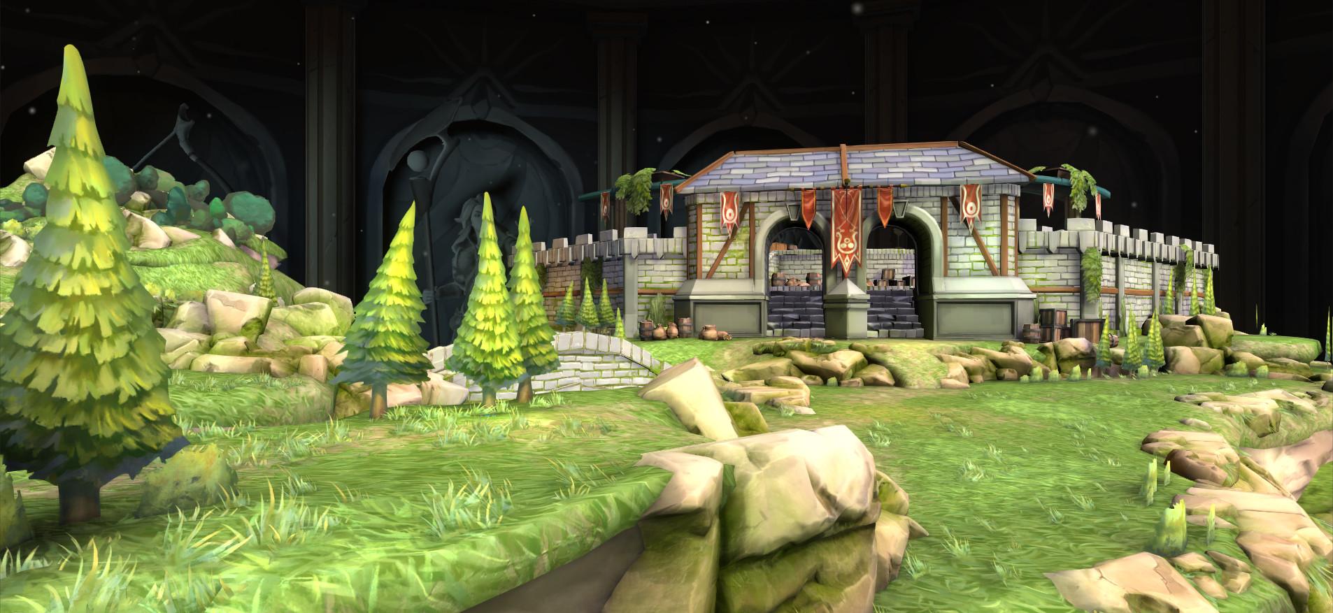 ArtStation - RuneScape Chronicle Grand Exchange, Lewis Labram