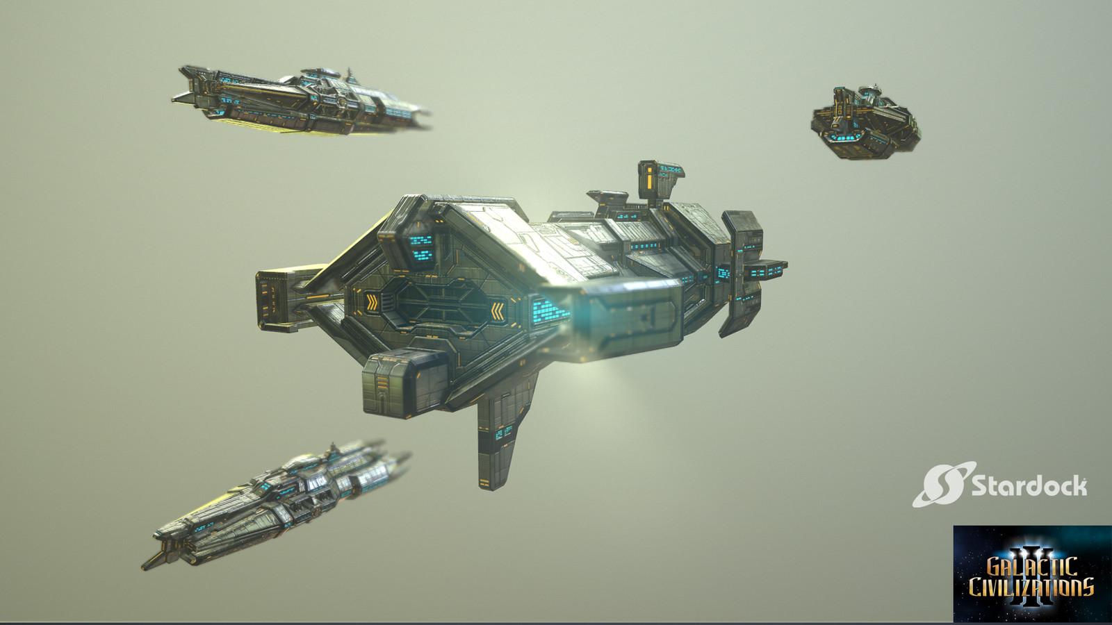 Galactic Civilizations 3 Ships - Terran