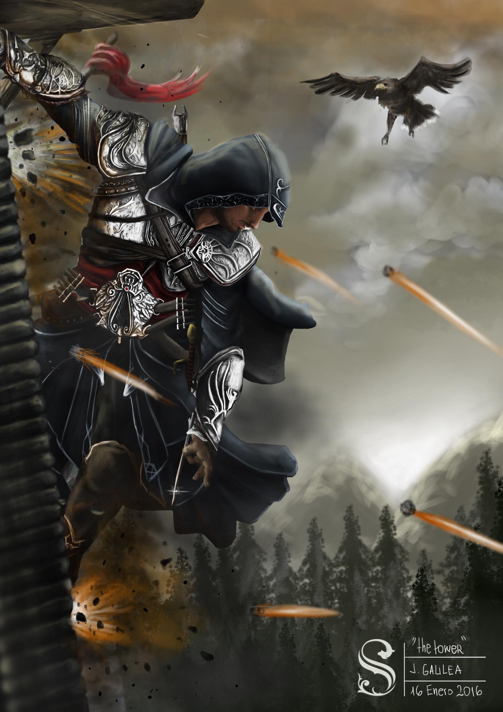 Artstation Assassin S Creed Fan Art John Galilea