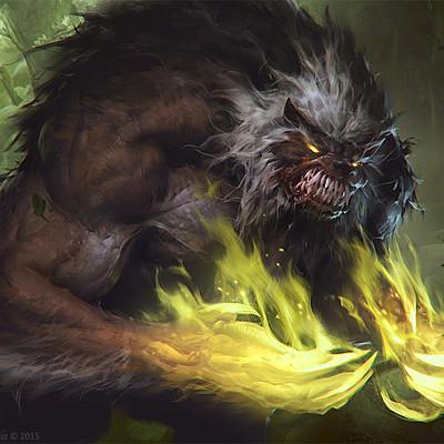 Slawomir maniak werewolf of ancient