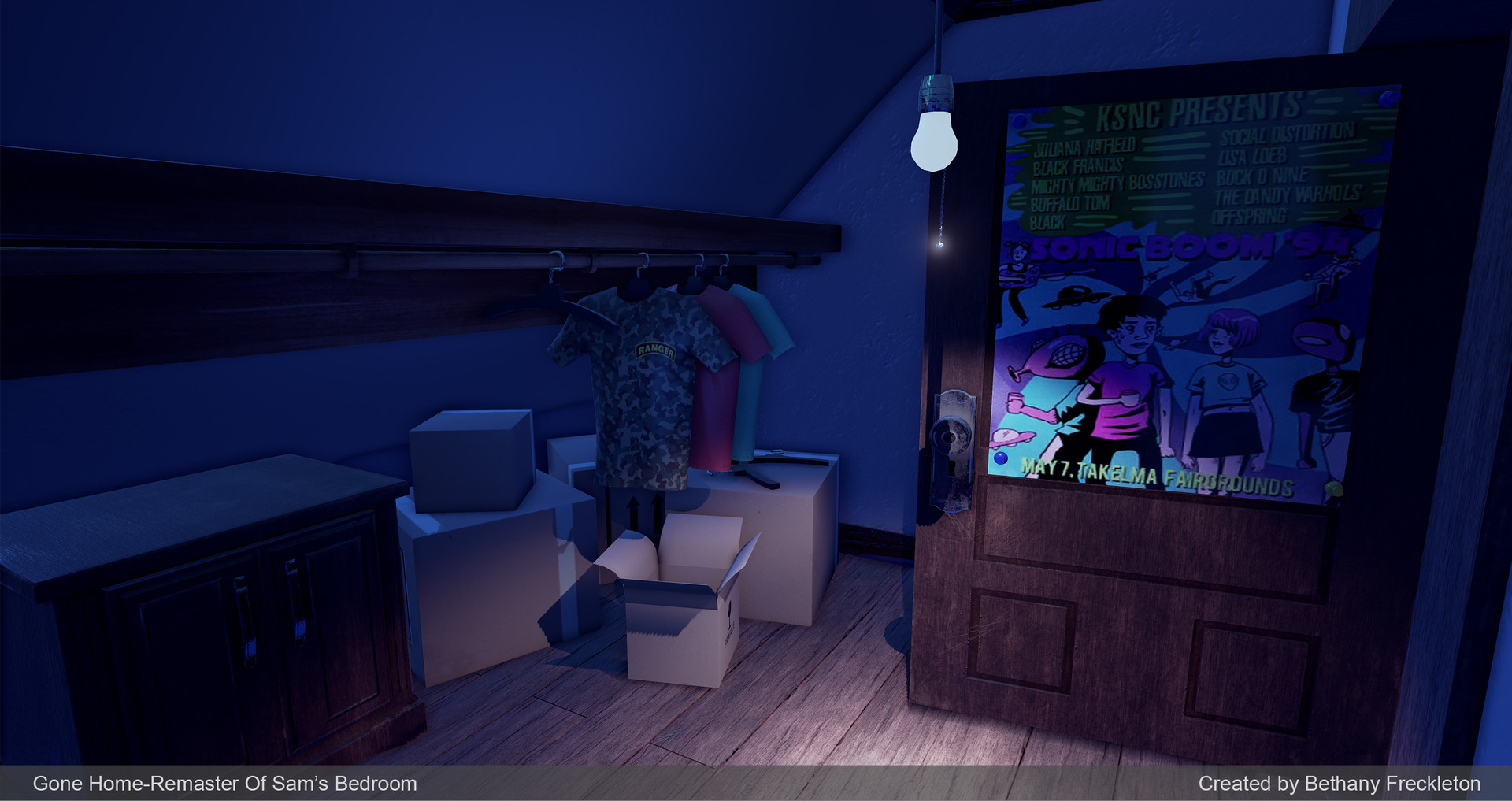 Gone home 3d pictures