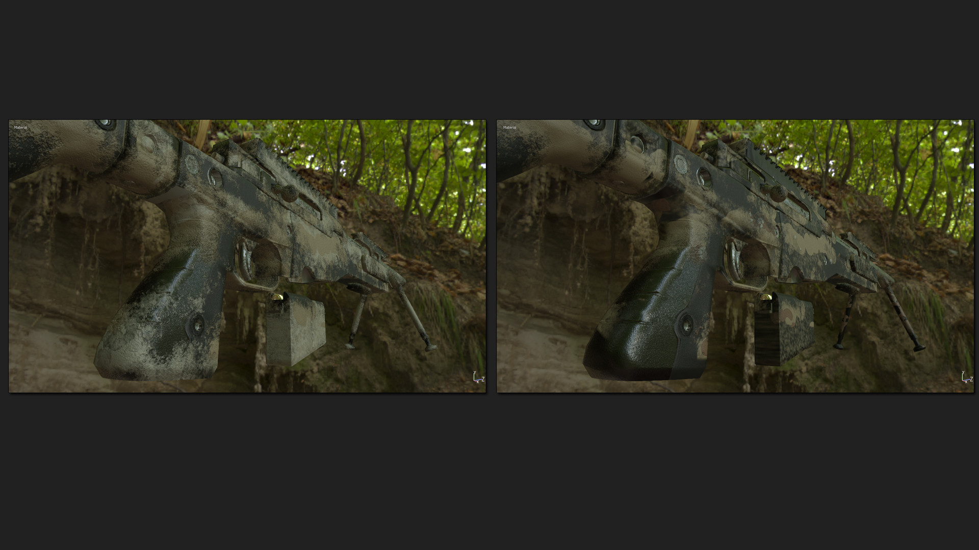 ArtStation - AT  308 - 7 62x51 Sniper Rifle 4k Map - Unreal Engine 4