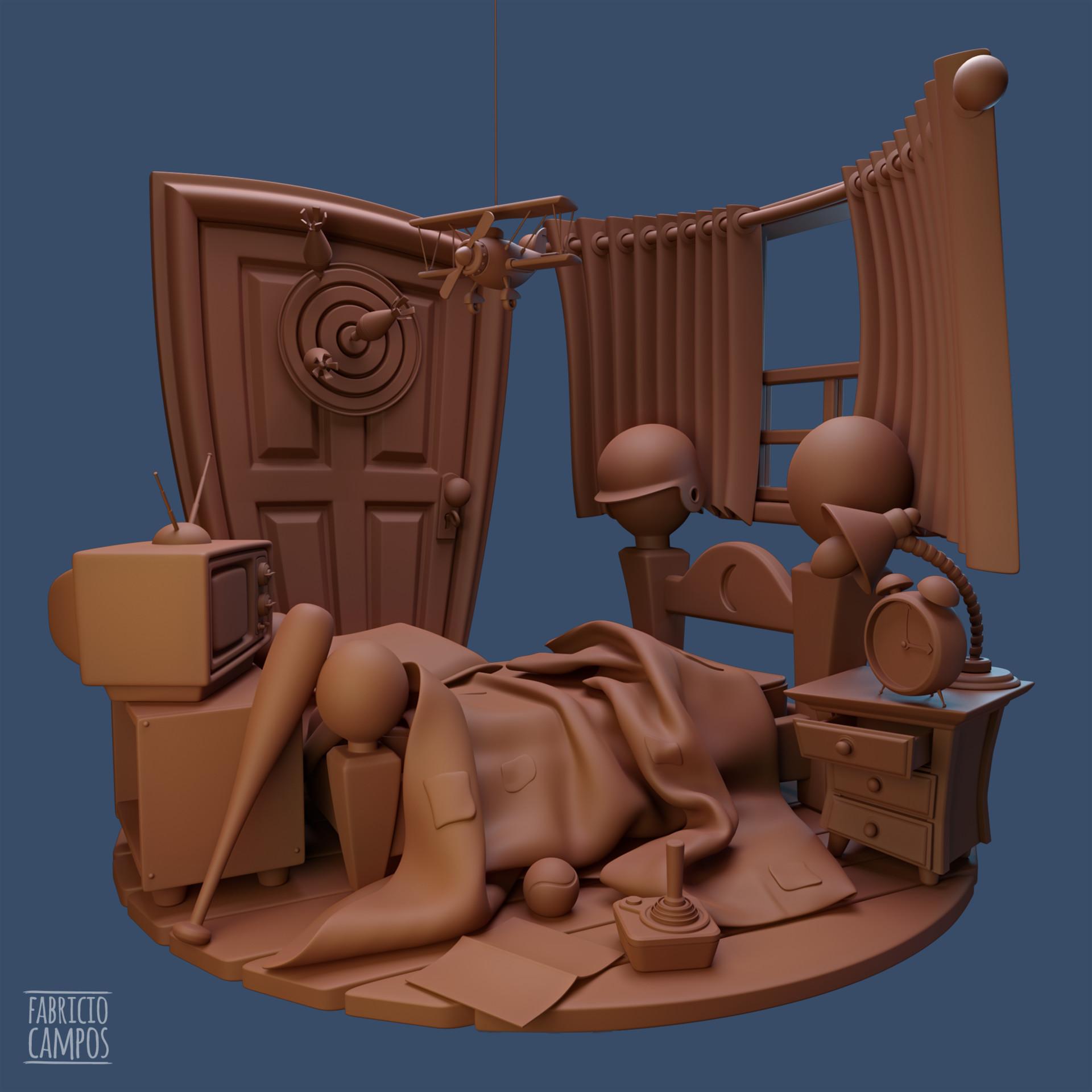 Fabricio campos room maya
