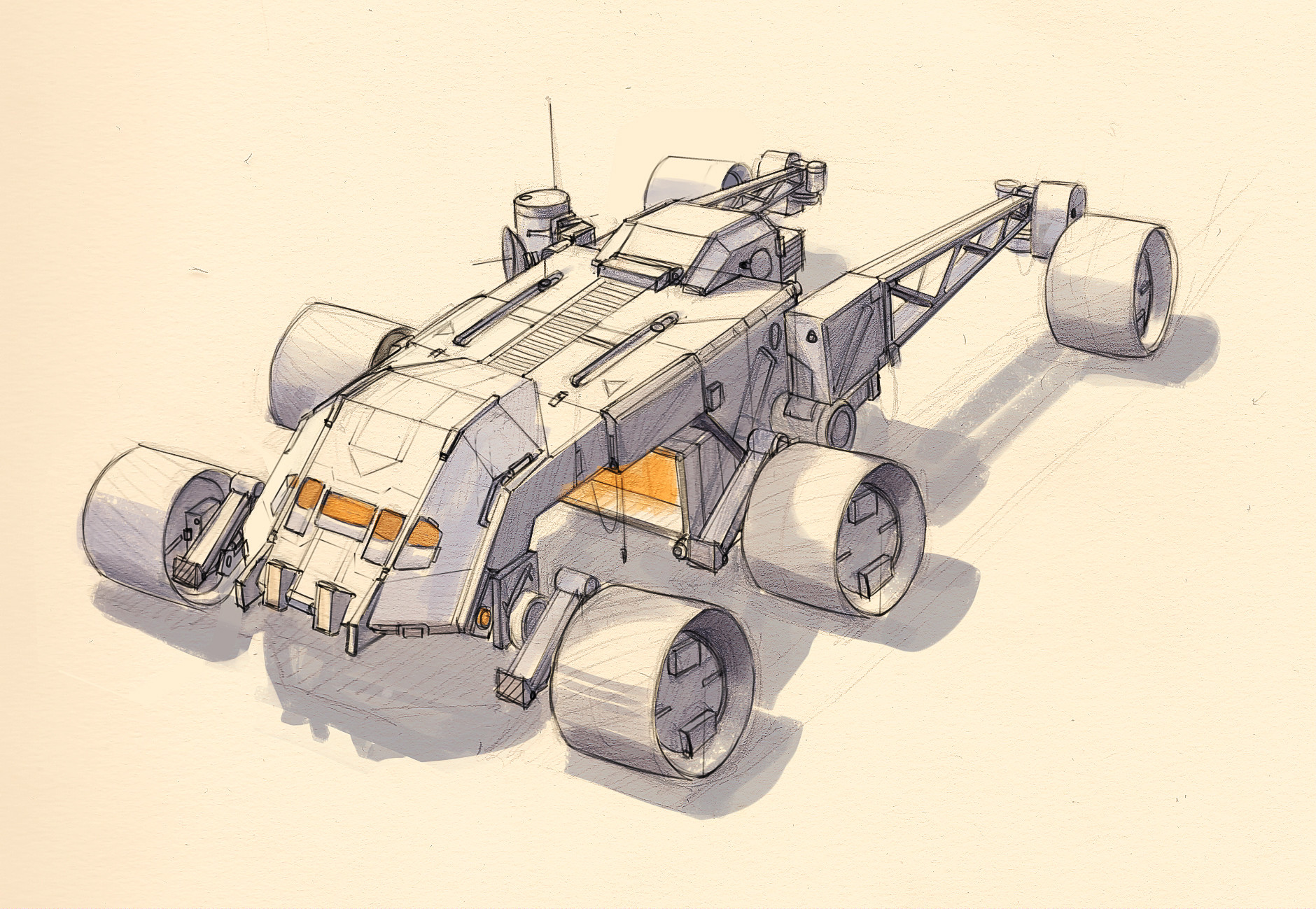 Eric geusz another rover colored