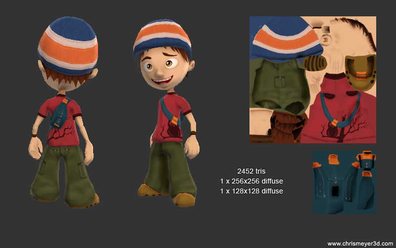 Playable Boy Character