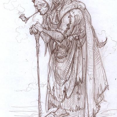 Mike mccarthy oldwoman sketch