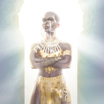 Marius millar queen of the sun poster