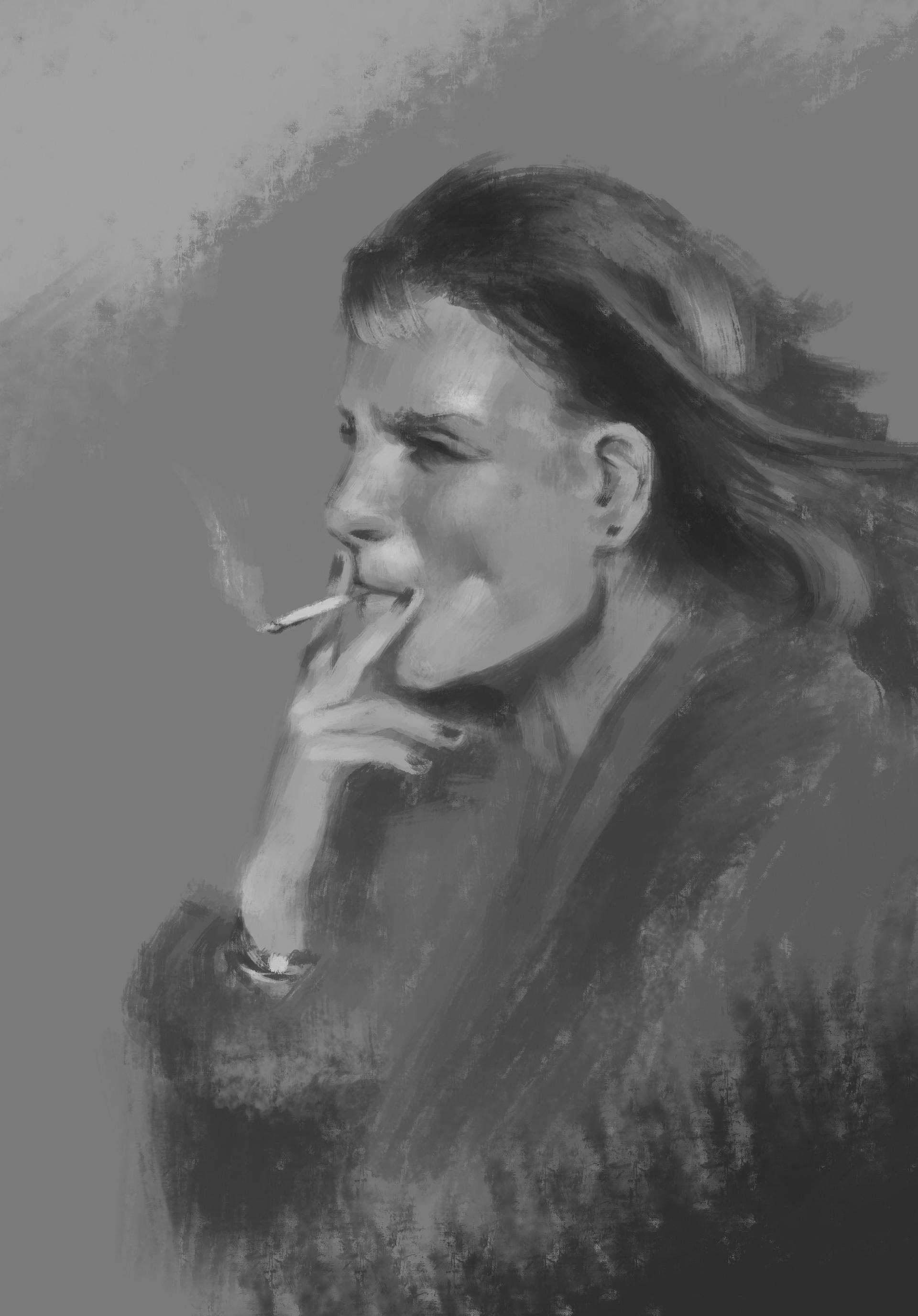 Holger schulz fem smoking