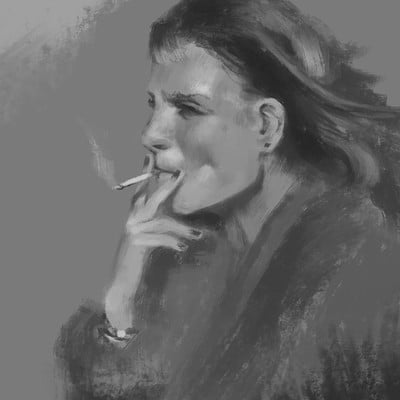 Smoking is bad but looks badass