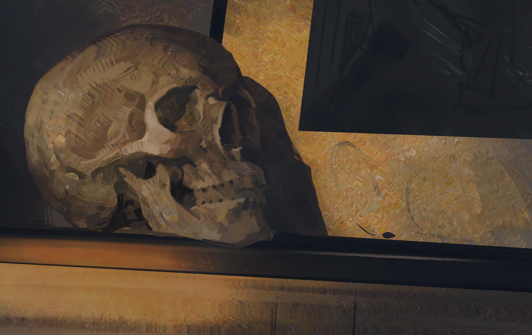 Bartlomiej gawel czaszka2