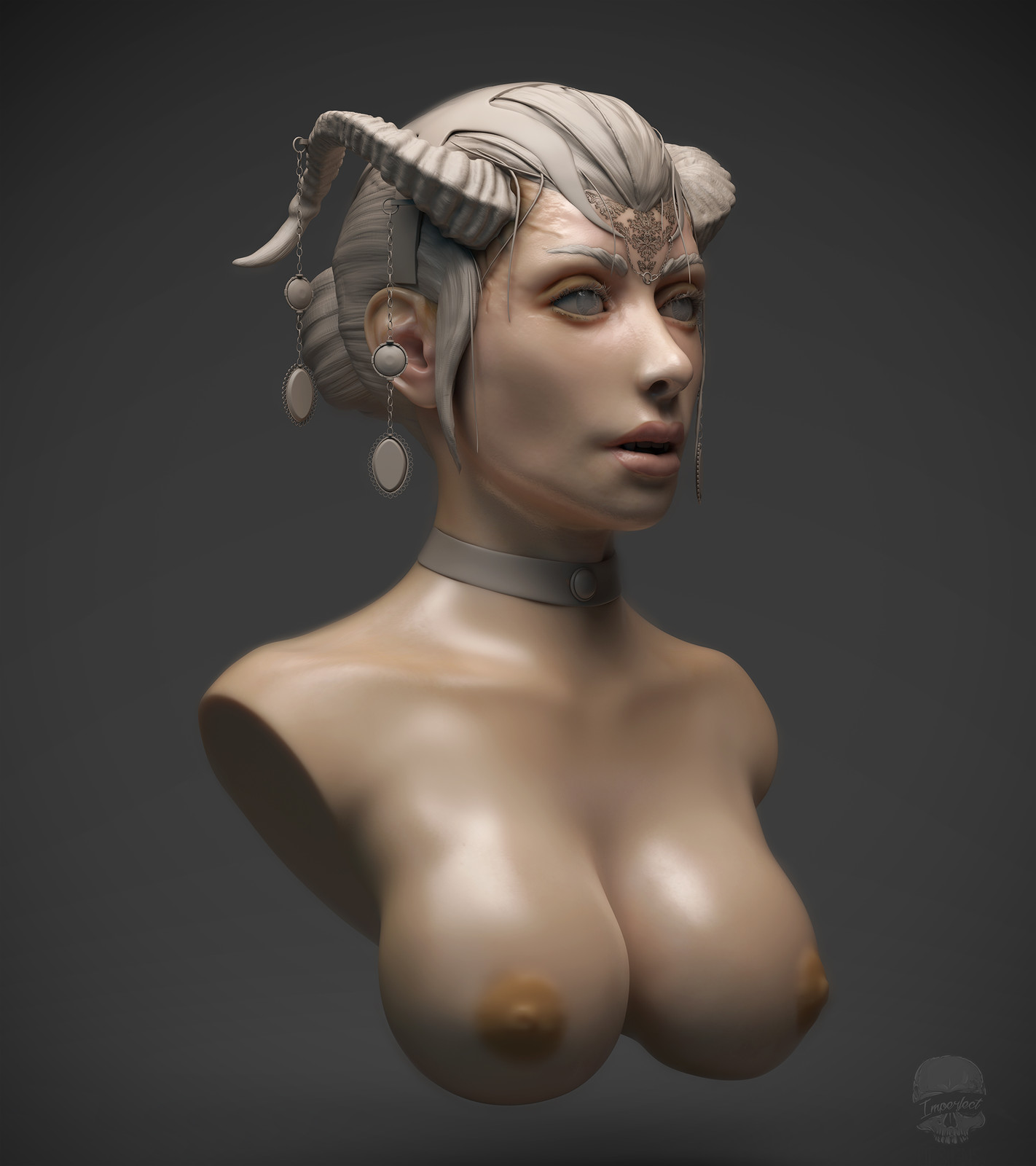 Zylia Bust - Participant of CGTrader Awards