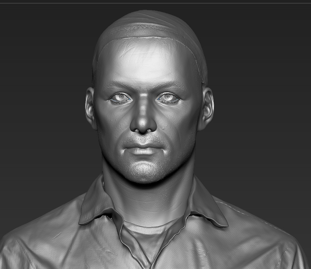 Nurshat Cg Study Human Face Anatomy