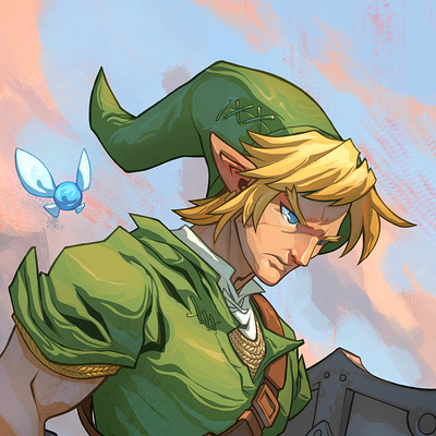 Harrison yinfaowei link linework by edwinhuang color by yinfaowei