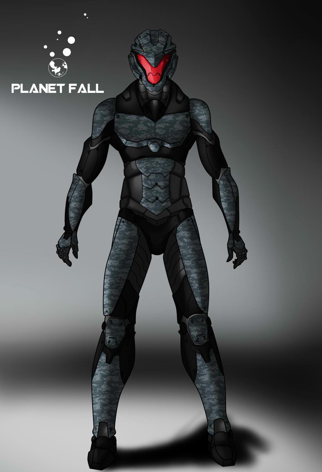 Andre Howell Titan Battle Armor