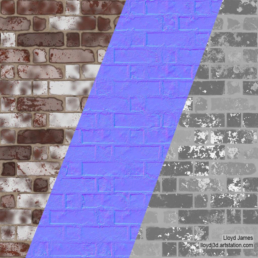 Lloyd james brick paint breakdown