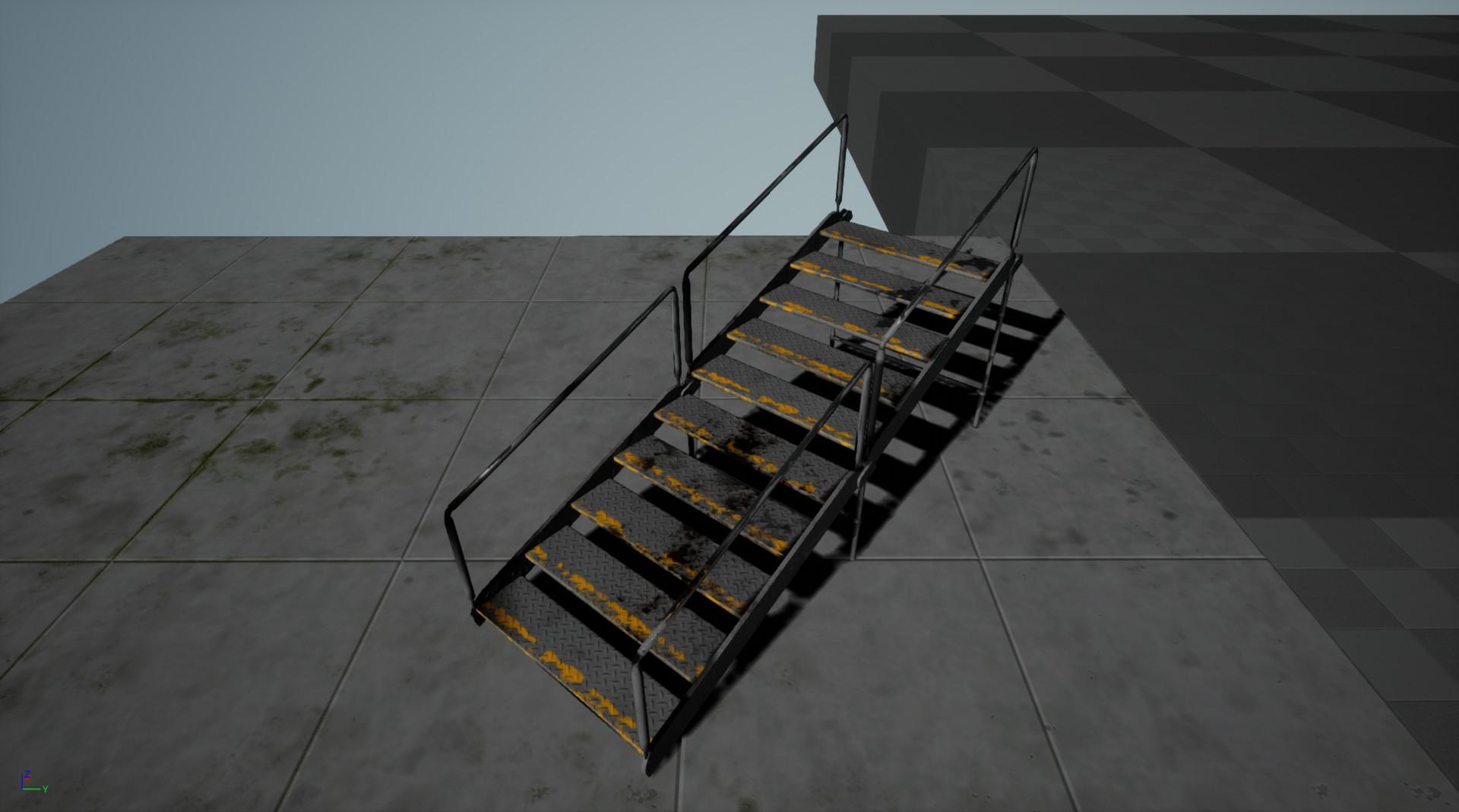 Lloyd james stairs screenshot 2