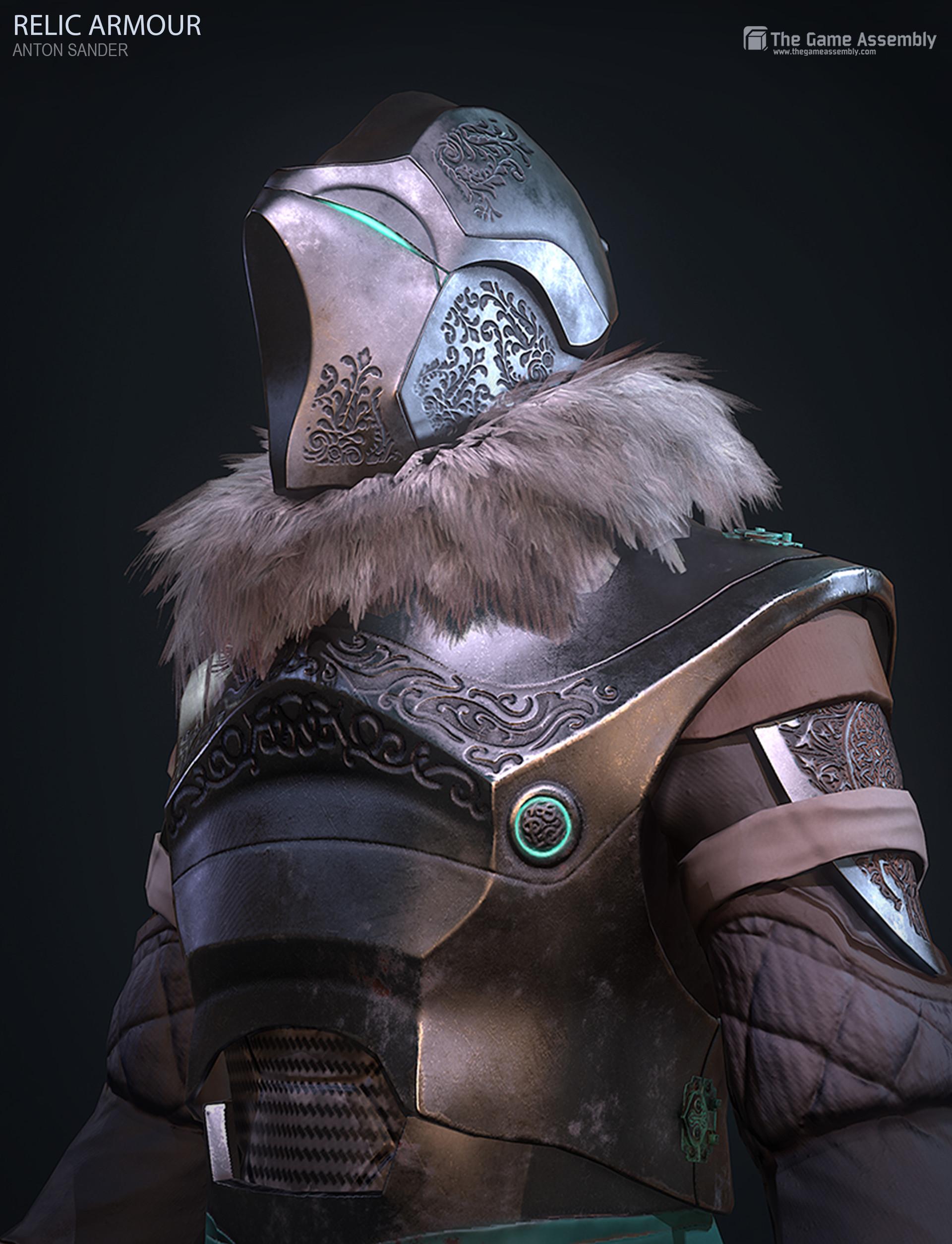 Anton sander relic armour a