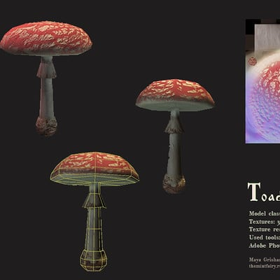 Maya grishanowitch toadstool wirefamed