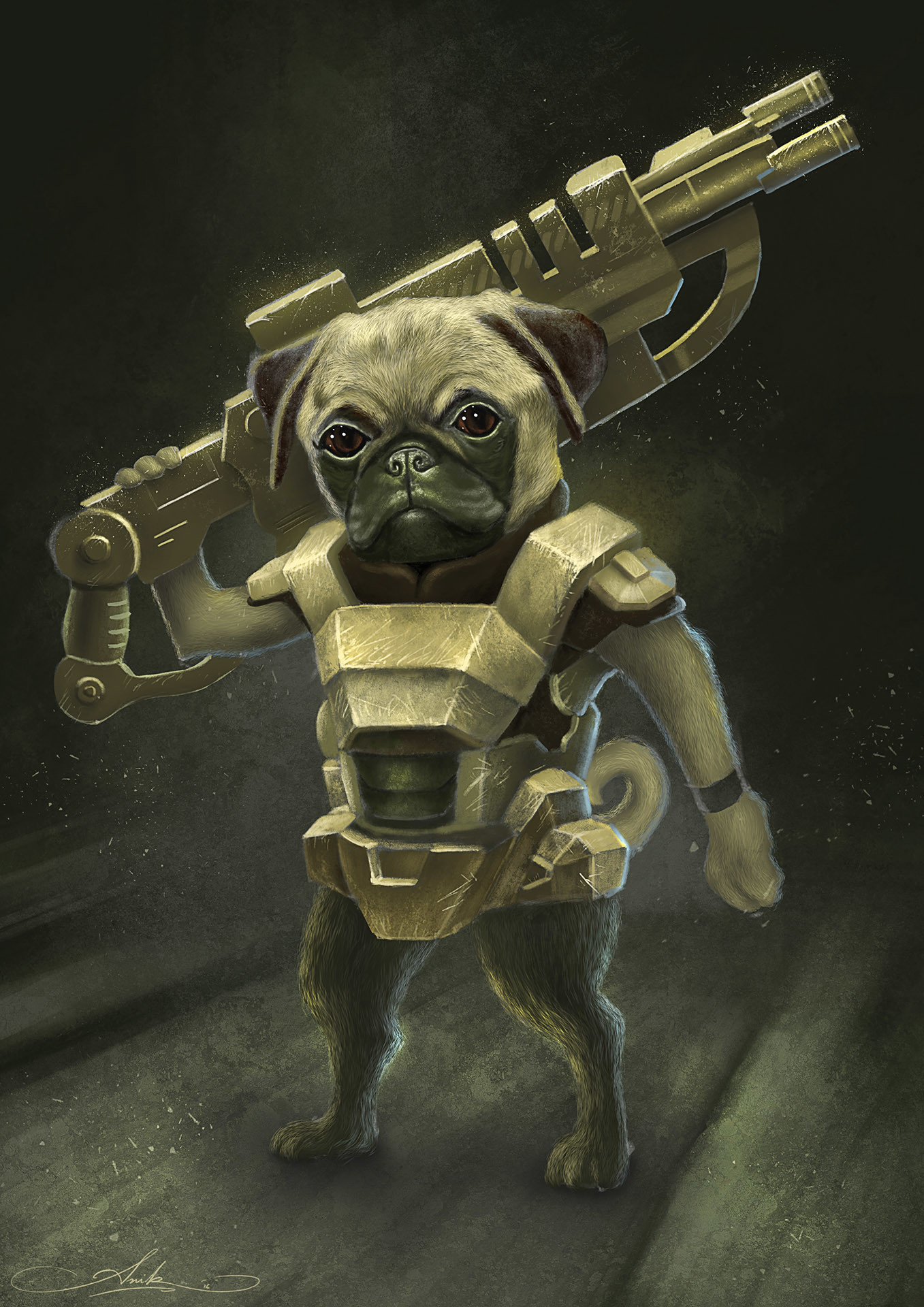 Anik biswas pug warrior copy